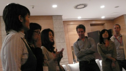 Charlie Pownall leading PR agency regional digital training - Beijing, 2008