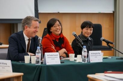 Panelist at the Richard Ivey School of Business - Hong Kong, February 2014